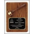 PG1687 American Walnut Plaque